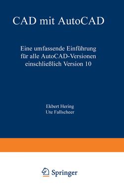 CAD mit AutoCAD von Hering,  Ekbert