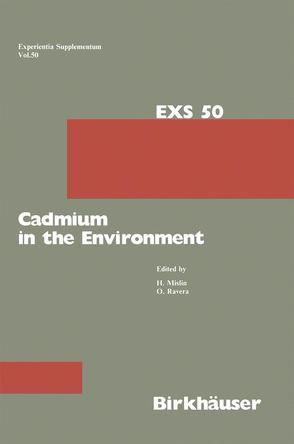 Cadmium in the Environment von Mislin,  Hans, Ravera,  Oscar