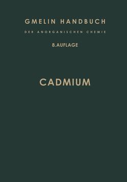 Cadmium System-Nummer 33 von Meyer,  R. J.