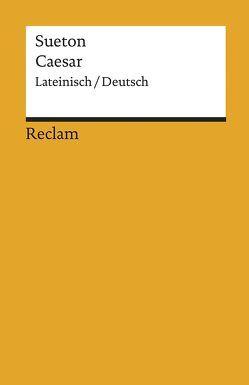 Caesar von Schmitz,  Dietmar, Sueton