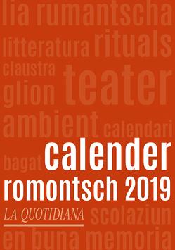 Calender Romontsch 2019 von Somedia Production