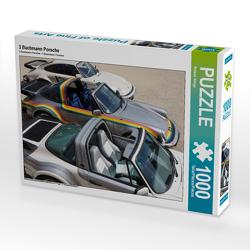 CALVENDO Puzzle 3 Buchmann Porsche 1000 Teile Lege-Größe 64 x 48 cm Foto-Puzzle Bild von Roland Klinge