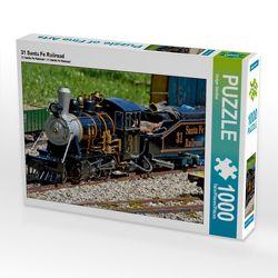 CALVENDO Puzzle 31 Santa Fe Railroad 1000 Teile Lege-Größe 64 x 48 cm Foto-Puzzle Bild von Geiger Günther von Günther,  Geiger