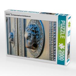 CALVENDO Puzzle Aachen – die Kaiserstadt am Dreiländereck 2000 Teile Lege-Größe 90 x 67 cm Foto-Puzzle Bild von Christian Müller