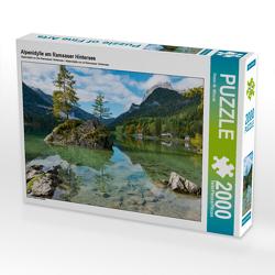 CALVENDO Puzzle Alpenidylle am Ramsauer Hintersee 2000 Teile Lege-Größe 90 x 67 cm Foto-Puzzle Bild von Dieter-M. Wilczek