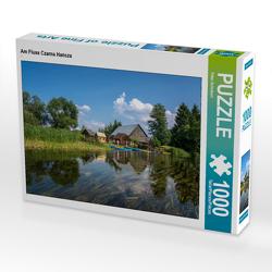 CALVENDO Puzzle Am Fluss Czarna Hańcza 1000 Teile Lege-Größe 64 x 48 cm Foto-Puzzle Bild von Peter Schickert