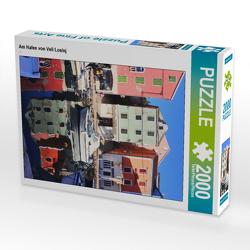 CALVENDO Puzzle Am Hafen von Veli Losinj 2000 Teile Lege-Größe 67 x 90 cm Foto-Puzzle Bild von N N