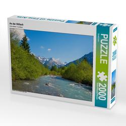 CALVENDO Puzzle An der Stillach 2000 Teile Lege-Größe 90 x 67 cm Foto-Puzzle Bild von SusaZoom