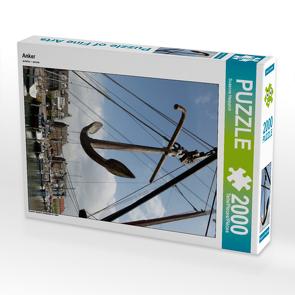 CALVENDO Puzzle Anker 2000 Teile Lege-Größe 67 x 90 cm Foto-Puzzle Bild von Susanne Herppich