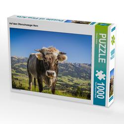 CALVENDO Puzzle Auf dem Ofterschwanger Horn 1000 Teile Lege-Größe 64 x 48 cm Foto-Puzzle Bild von Florian Krauss