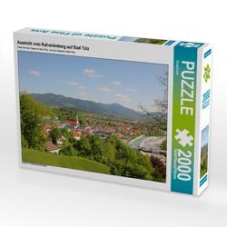 CALVENDO Puzzle Aussicht vom Kalvarienberg auf Bad Tölz 2000 Teile Lege-Größe 90 x 67 cm Foto-Puzzle Bild von SusaZoom