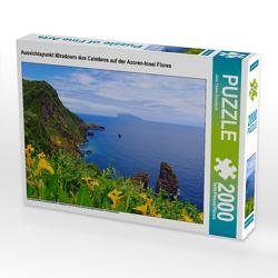 CALVENDO Puzzle Aussichtspunkt Miradouro dos Caimbros auf der Azoren-Insel Flores 2000 Teile Lege-Größe 90 x 67 cm Foto-Puzzle Bild von Jana Thiem-Eberitsch