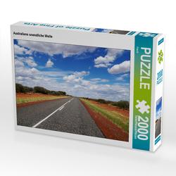 CALVENDO Puzzle Australiens unendliche Weite 2000 Teile Lege-Größe 90 x 67 cm Foto-Puzzle Bild von Flori0
