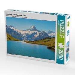 CALVENDO Puzzle Bachalpsee in den Schweizer Alpen 2000 Teile Lege-Größe 90 x 67 cm Foto-Puzzle Bild von SusaZoom