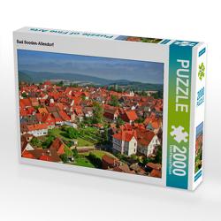 CALVENDO Puzzle Bad Sooden-Allendorf 2000 Teile Lege-Größe 90 x 67 cm Foto-Puzzle Bild von N N