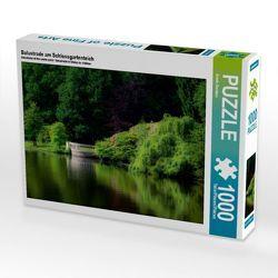 CALVENDO Puzzle Balustrade am Schlossgartenteich 1000 Teile Lege-Größe 64 x 48 cm Foto-Puzzle Bild von Erwin Renken von Renken,  Erwin
