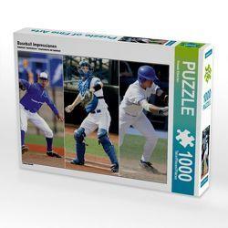 CALVENDO Puzzle Baseball Impressionen 1000 Teile Lege-Größe 64 x 48 cm Foto-Puzzle Bild von Renate Bleicher von Bleicher,  Renate