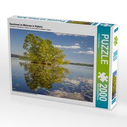 CALVENDO Puzzle Bauminsel im Mälarsee in Sigtuna 2000 Teile Lege-Größe 90 x 67 cm Foto-Puzzle Bild von Christian Müringer
