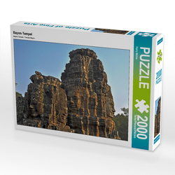 CALVENDO Puzzle Bayon-Tempel 2000 Teile Lege-Größe 90 x 67 cm Foto-Puzzle Bild von Harry Müller