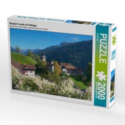 CALVENDO Puzzle Bergdorf Luzein im Prättigau 2000 Teile Lege-Größe 90 x 67 cm Foto-Puzzle Bild von SusaZoom