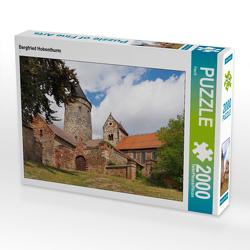 CALVENDO Puzzle Bergfried Hohenthurm 2000 Teile Lege-Größe 90 x 67 cm Foto-Puzzle Bild von Flori0