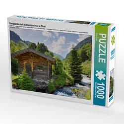 CALVENDO Puzzle Berglandschaft Schwarzachtal in Tirol 1000 Teile Lege-Größe 64 x 48 cm Foto-Puzzle Bild von Anja Frost