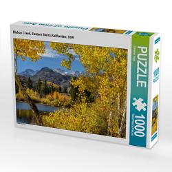 CALVENDO Puzzle Bishop Creek, Eastern Sierra,Kalifornien, USA 1000 Teile Lege-Größe 64 x 48 cm Foto-Puzzle Bild von Christian Heeb