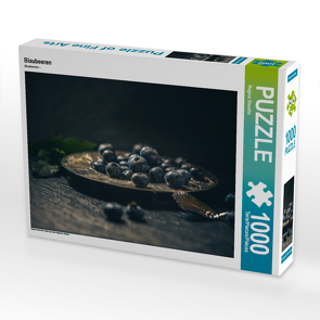 CALVENDO Puzzle Blaubeeren 1000 Teile Lege-Größe 64 x 48 cm Foto-Puzzle Bild von Regina Steudte