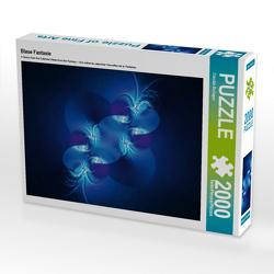 CALVENDO Puzzle Blaue Fantasie 2000 Teile Lege-Größe 90 x 67 cm Foto-Puzzle Bild von Claudia Burlager