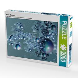 CALVENDO Puzzle Blaue Momente 2000 Teile Lege-Größe 67 x 90 cm Foto-Puzzle Bild von Claudia Burlager