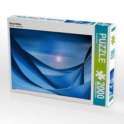 CALVENDO Puzzle Blaue Wellen 2000 Teile Lege-Größe 90 x 67 cm Foto-Puzzle Bild von Wiebke Storm