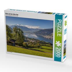 CALVENDO Puzzle Blick auf den Zeller See 2000 Teile Lege-Größe 90 x 67 cm Foto-Puzzle Bild von Christian Müringer