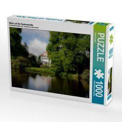 CALVENDO Puzzle Blick auf die Gartenstraße 1000 Teile Lege-Größe 64 x 48 cm Foto-Puzzle Bild von Erwin Renken von Renken,  Erwin