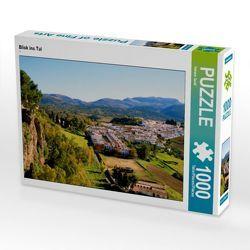 CALVENDO Puzzle Blick ins Tal 1000 Teile Lege-Größe 64 x 48 cm Foto-Puzzle Bild von Helene Seidl von Seidl,  Helene
