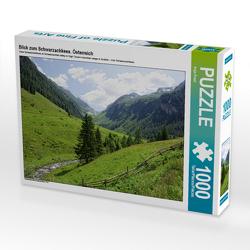 CALVENDO Puzzle Blick zum Schwarzachkees. Österreich 1000 Teile Lege-Größe 64 x 48 cm Foto-Puzzle Bild von Anja Frost