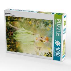 CALVENDO Puzzle Blumenfrau 1000 Teile Lege-Größe 48 x 64 cm Foto-Puzzle Bild von Ravienne Art