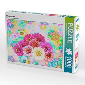 CALVENDO Puzzle Blumenpower 1000 Teile Lege-Größe 64 x 48 cm Foto-Puzzle Bild von Liselotte Brunner-Klaus