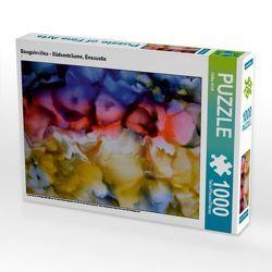 CALVENDO Puzzle Bougainvillea – Südseeträume, Encaustic 1000 Teile Lege-Größe 48 x 64 cm Foto-Puzzle Bild von Ulrike Kröll von Kröll,  Ulrike