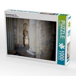 CALVENDO Puzzle Brandenburger Tor 1000 Teile Lege-Größe 64 x 48 cm Foto-Puzzle Bild von Ingo Gerlach von Gerlach,  Ingo