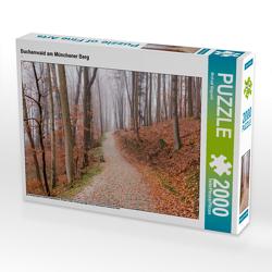 CALVENDO Puzzle Buchenwald am Münchener Berg 2000 Teile Lege-Größe 90 x 67 cm Foto-Puzzle Bild von Michael Bogumil