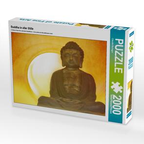 CALVENDO Puzzle Buddha in aller Stille 2000 Teile Lege-Größe 90 x 67 cm Foto-Puzzle Bild von Claudia Burlager