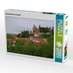 CALVENDO Puzzle Burg Hanstein im Eichsfeld 2000 Teile Lege-Größe 90 x 67 cm Foto-Puzzle Bild von Flori0
