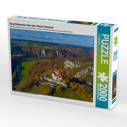 CALVENDO Puzzle Burg Wildenstein über dem Oberen Donautal 2000 Teile Lege-Größe 90 x 67 cm Foto-Puzzle Bild von Andreas Beck