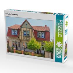 """CALVENDO Puzzle Café """"Der Froschkönig 2000 Teile Lege-Größe 90 x 67 cm Foto-Puzzle Bild von Rene Schubert"""