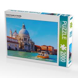 CALVENDO Puzzle Canale Grande in Venedig 2000 Teile Lege-Größe 90 x 67 cm Foto-Puzzle Bild von Christian Müller