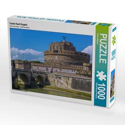 CALVENDO Puzzle Castel Sant'Angelo 1000 Teile Lege-Größe 64 x 48 cm Foto-Puzzle Bild von Hanna Wagner