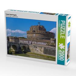 CALVENDO Puzzle Castel Sant'Angelo 2000 Teile Lege-Größe 90 x 67 cm Foto-Puzzle Bild von Hanna Wagner