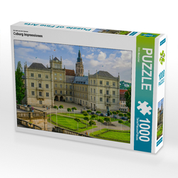 CALVENDO Puzzle Coburg Impressionen 1000 Teile Lege-Größe 64 x 48 cm Foto-Puzzle Bild von Dirk Meutzner
