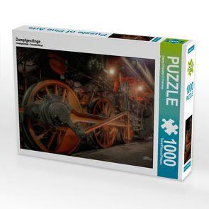 CALVENDO Puzzle Dampfgestänge 1000 Teile Lege-Größe 64 x 48 cm Foto-Puzzle Bild von Danny Elskamp-D.Elskamp Photography