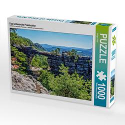 CALVENDO Puzzle Das böhmische Prebischtor 1000 Teile Lege-Größe 64 x 48 cm Foto-Puzzle Bild von Holger Felix